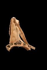 Captain Cork BRITT - Mooie schoudertas met flap in natuurlijke kurkkleur