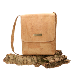 Captain Cork BRITT - Nice shoulder bag in natural cork colour/Captain Cork Label