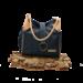 Captain Cork LAURA _ NAVY BLUE NATURAL DETAIL hand bag out of CORK