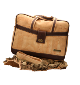 Captain Cork LOGAN- The corky shoulder business bag / Captain Cork Label