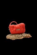 Captain Cork Eva - Elegant schoudertasje in romantisch rood en schattig detail