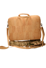 Captain Cork LEWIE - The functional vegan laptop bag in natural cork with shoulder strap/Captain Cork Label
