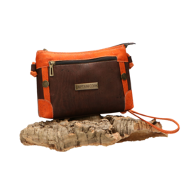 Captain Cork BARBARRA - Fiery vegan shoulder bag/Captain Cork Label