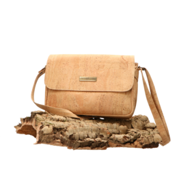Captain Cork CHARLOTTE - Elegant, plain shoulder bag/Captain Cork Label