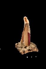 Captain Cork KINANTI - Handtas uit kurk in wijn rood