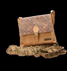 Captain Cork SONIA - Cool shouderbag with elegant flap / Captain Cork Label