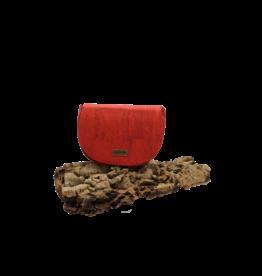Captain Cork NORA - Sadle bag vivid red / Captain Cork Label