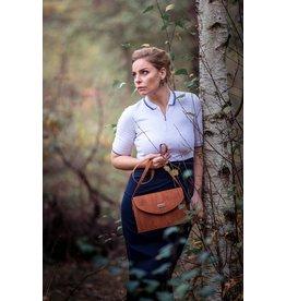Captain Cork TINNE - Timeless shoulder bag cinnamon
