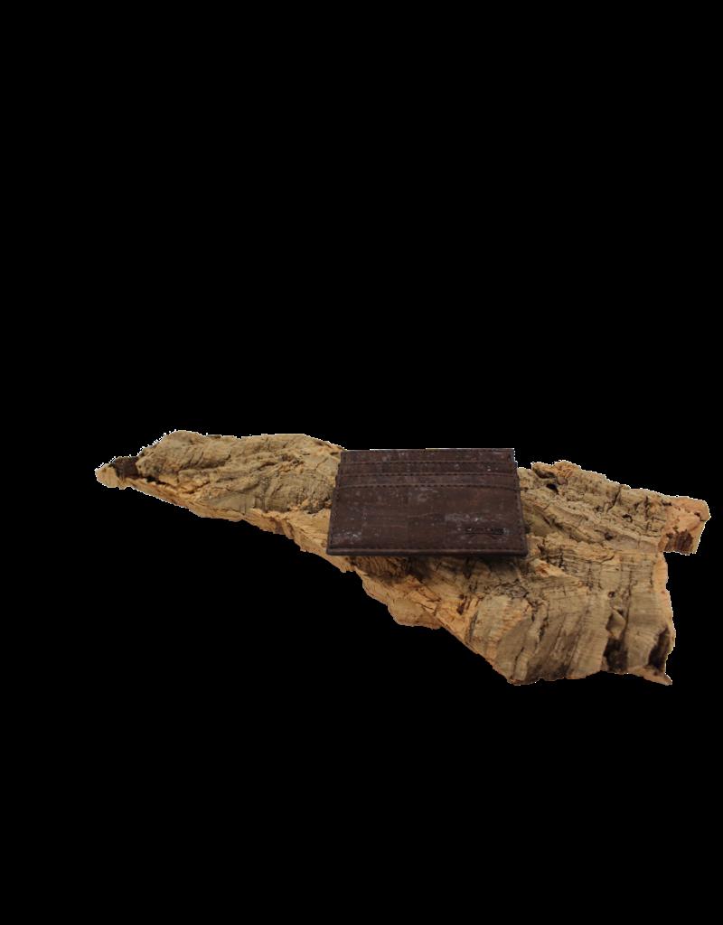 STEVE-Kaartenportefeuille in zakformaat bruin