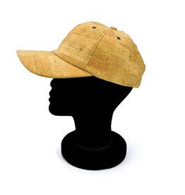 Captain Cork Baseball cap brown made out of cork