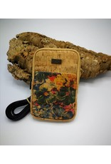 Captain Cork TINA - Purse for telephone Flowers