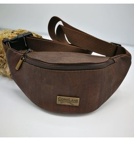 Captain Cork KAREL- Cool Cork Belt Bag Brown