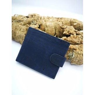 Captain Cork MARKUS - Men's Wallet BLUE