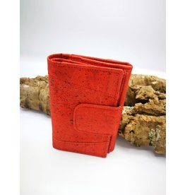 Captain Cork MARIT -Ladies Wallet BRIGHT RED