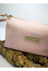 Captain Cork JITSKE - Make-up bag met polsbandje ROZE