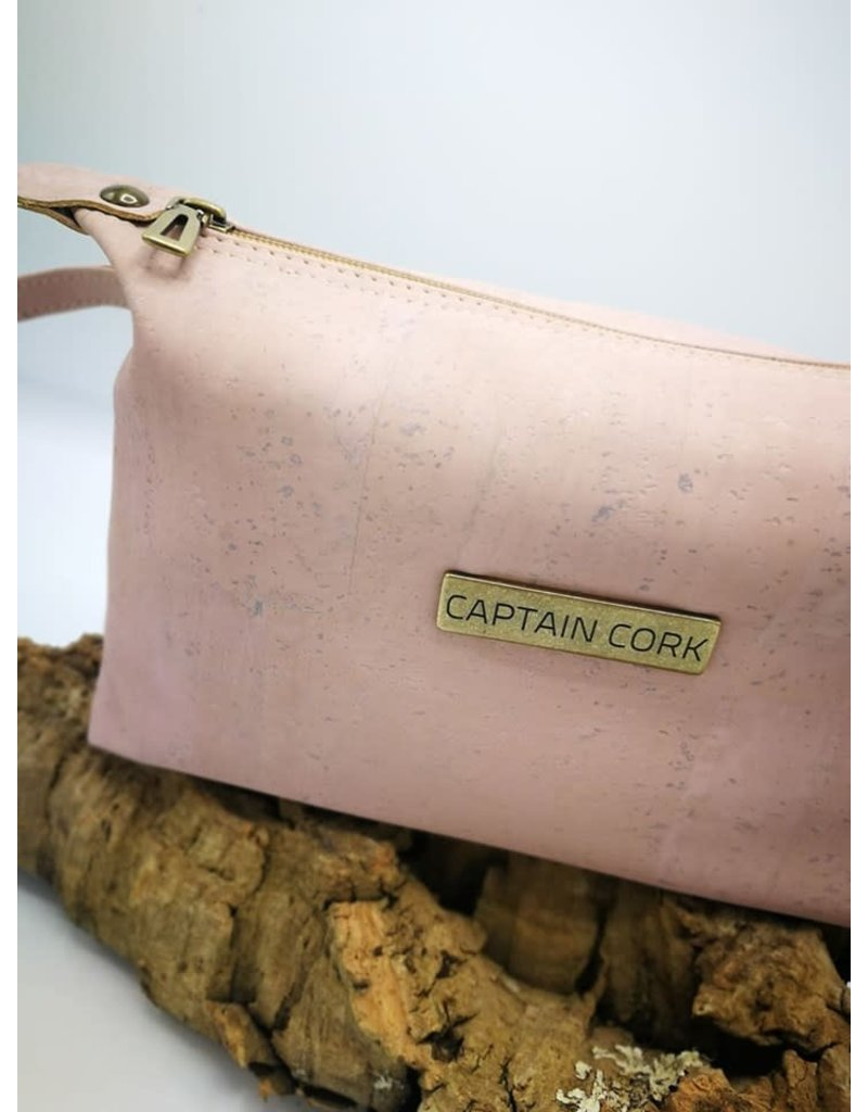 Captain Cork JITSKE - Make-up bag with bracelet PINK