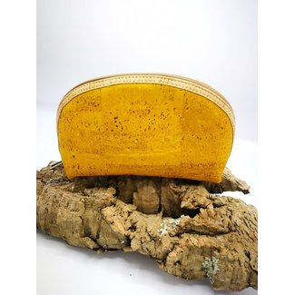Captain Cork METTE- Make-up Bag YELLOW