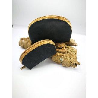 Captain Cork METTE- Make-up Bag ZWART