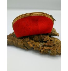 Captain Cork METTE- Make-up Bag BRIGHT RED