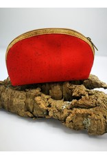 Captain Cork MANOU - Make up bag BRIGHT RED