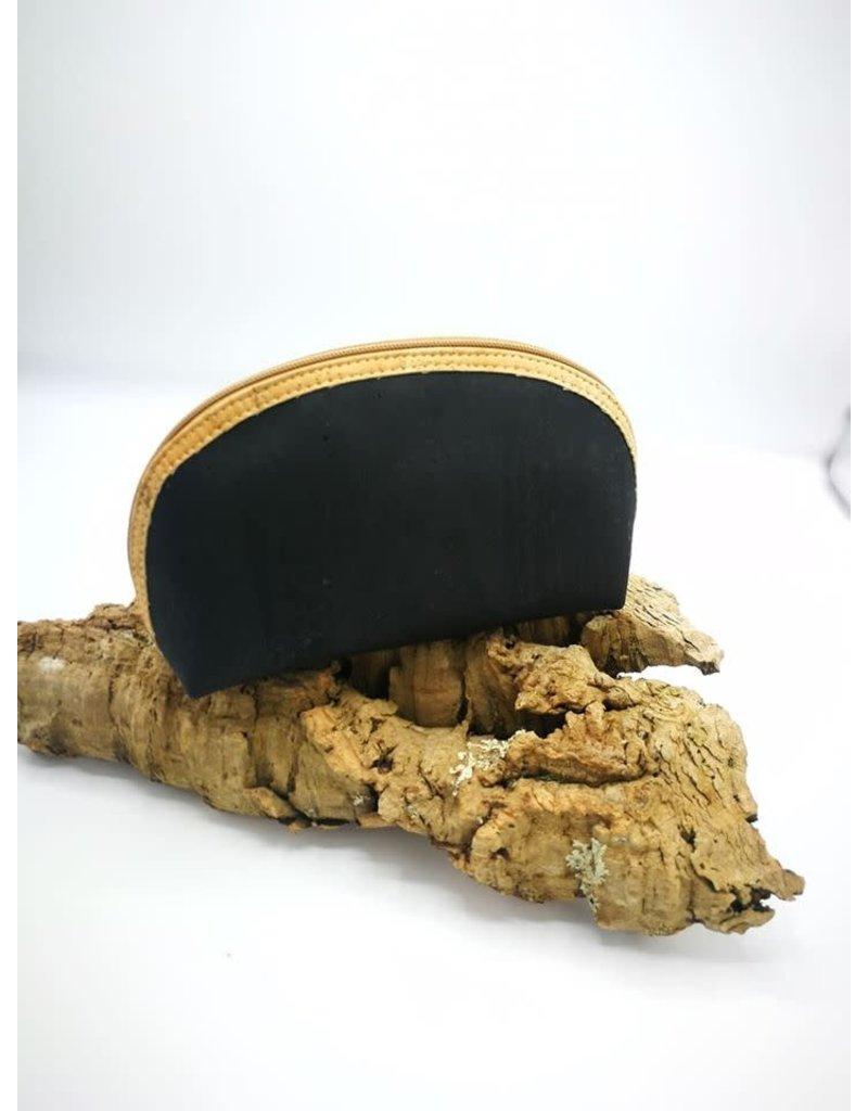 Captain Cork MANOU - Make up bag BLACK