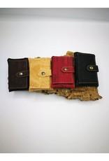 Captain Cork VIENNA handy & compact wallet DARK BROWN