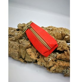 Captain Cork CHARLIE - wallet keychain BRIGHT RED
