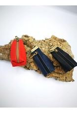 Captain Cork CHARLIE - wallet keychain BRIGHT RED
