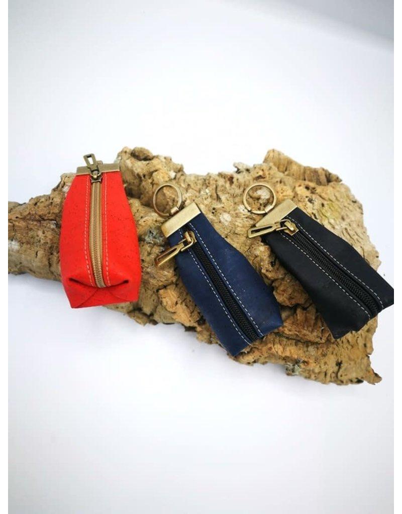 Captain Cork CHARLIE - wallet keychain DARK BLUE
