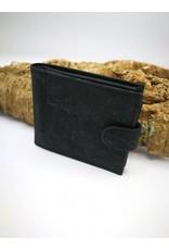 Captain Cork MARKUS - Men's Wallet BLACK