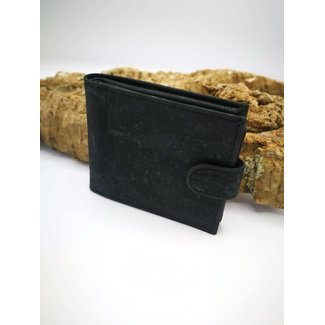 Captain Cork MARKUS - Men's Wallet BLACK