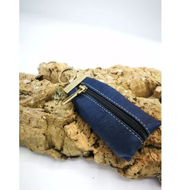 Captain Cork CHARLIE - wallet keychain DARK BLUE