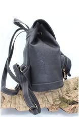 Captain Cork BAILEY - Classy city backpack in black