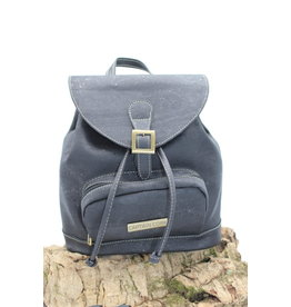 Captain Cork BAILEY - Classy city backpack natural / Captain cork label