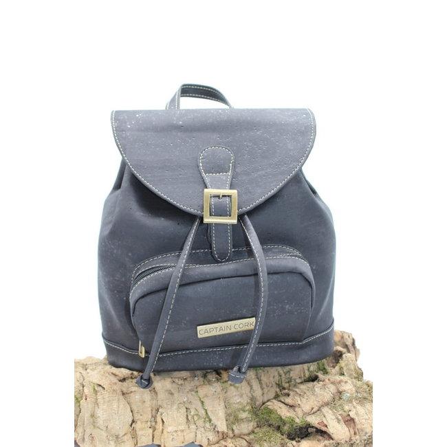 Captain Cork BAILEY - CORK city backpack BLACK