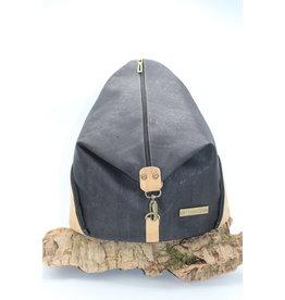 Captain Cork MARIANNE - Bold Backpack in black / Captain cork label