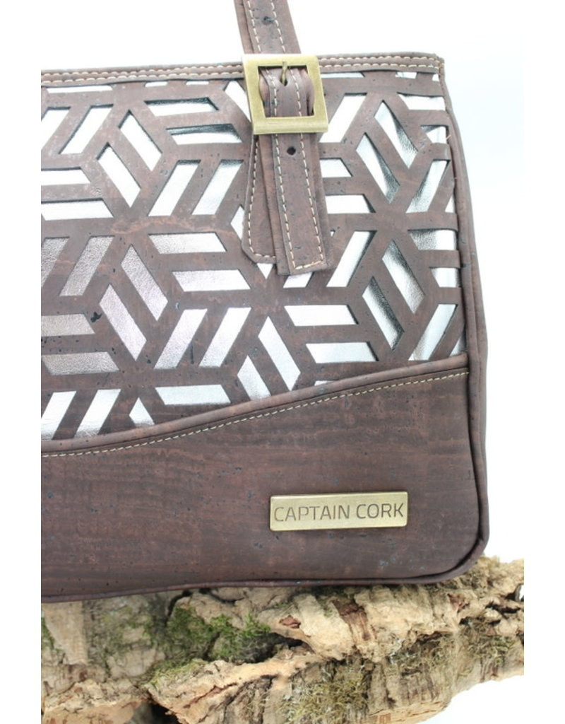 Captain Cork EDEN - Cork eye catcher with the perfect silver lining