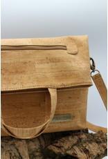 Captain Cork CRISTINA- Your Fold-Over Companion in natural cork color