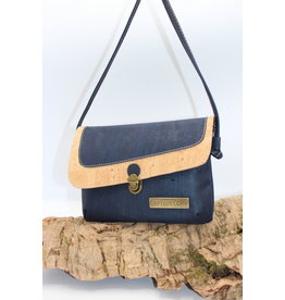Captain Cork VEERLE - The corky blue shoulder bag / Captain Cork Label