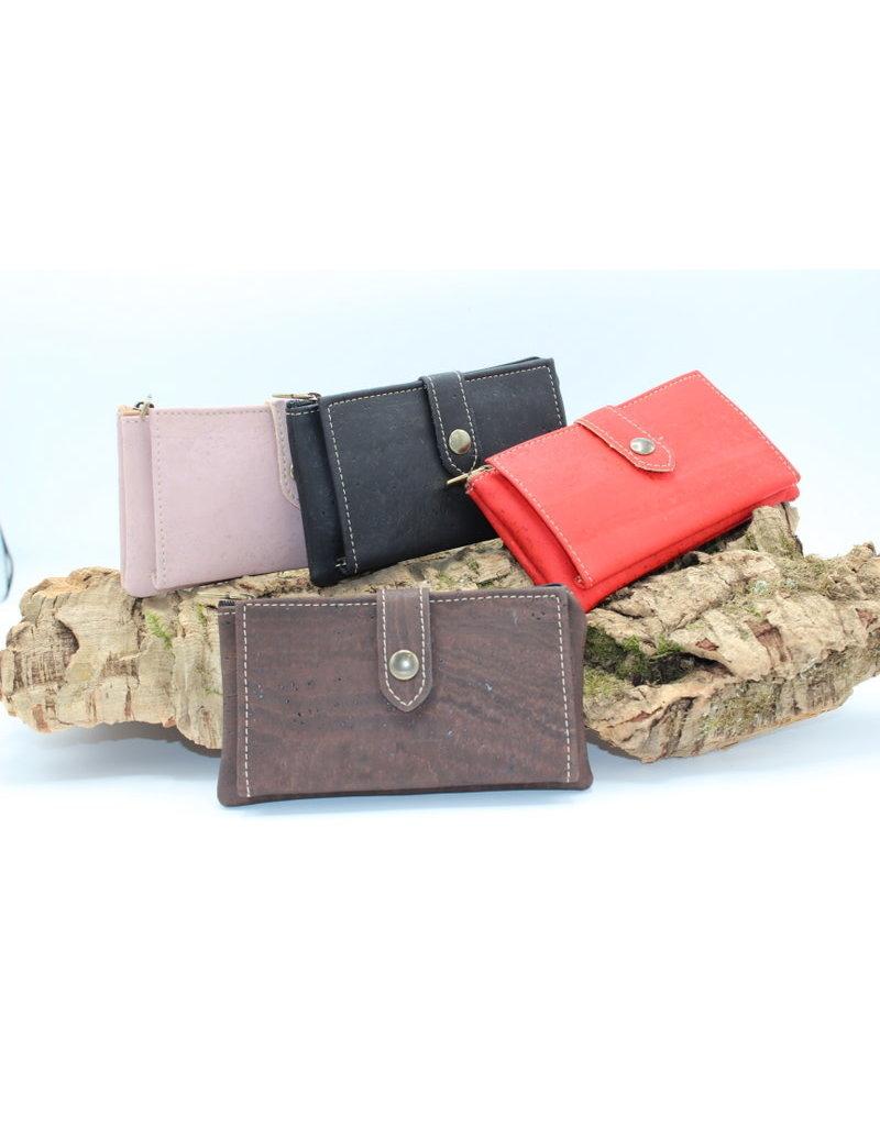Captain Cork ELISE - the compact cork wallet black
