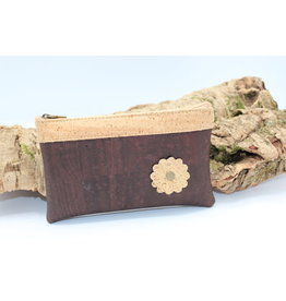 Captain Cork MAYA - The pretty bag with flower in brown
