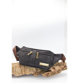 Captain Cork IMKE- Cool Cork Belt Bag in black
