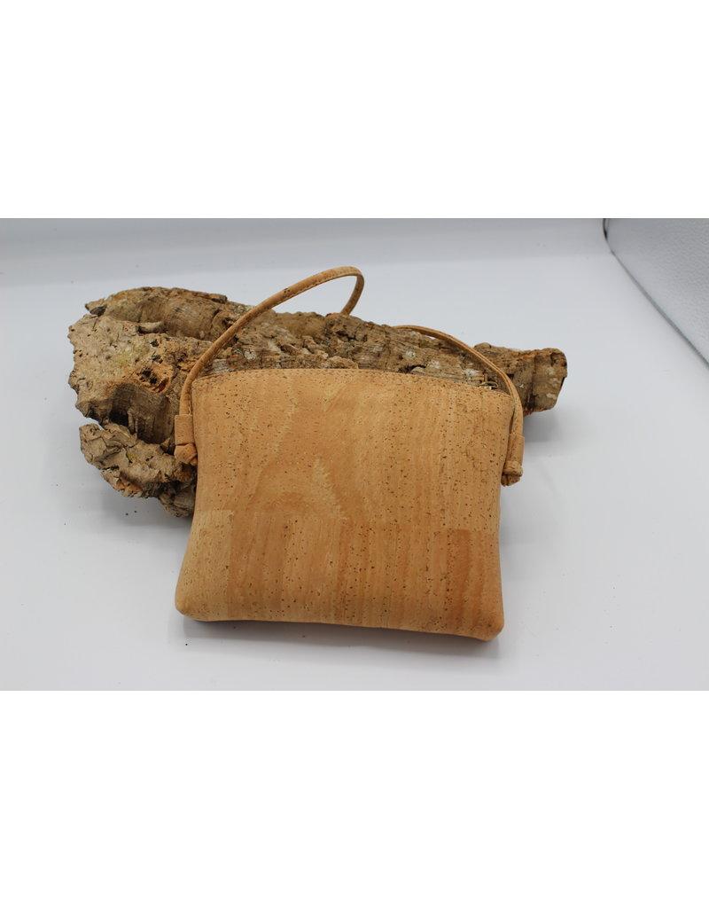 Captain Cork VLINDER - Cute little shoulderbag with flowers / Captain Cork Label
