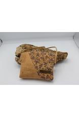 Captain Cork VLINDER - Cute little shoulderbag with blue flowers / Captain Cork Label