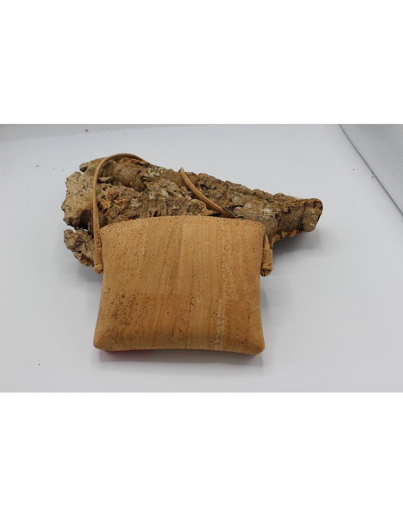 Captain Cork VLINDER - Cute little shoulderbag with Red / Captain Cork Label