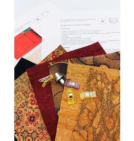 DIY 'sew your cork tote bag