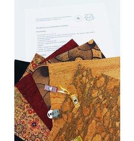 DIY 'kurken portemonnee naaien'