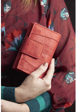 Captain Cork MARIT -Ladies Wallet BRIGHT RED