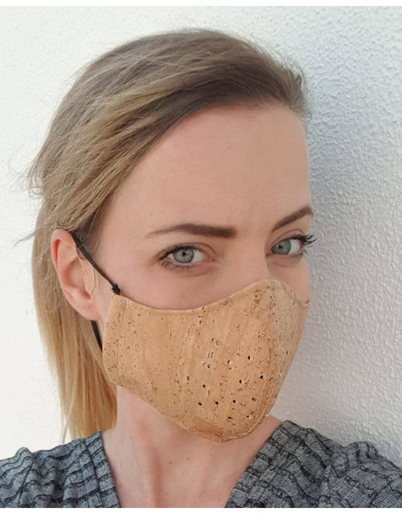 Captain Cork NAVY BLUE Mask Next Generation Filter (made out of cork)