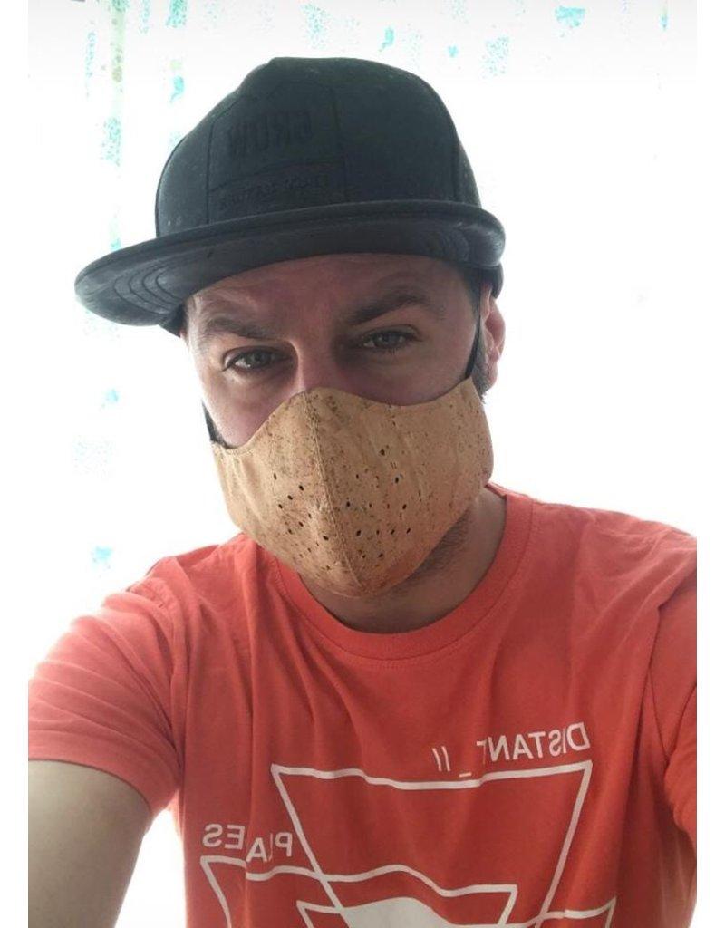 Captain Cork BRUIN Mondmasker Next Generation Filter uit KURK